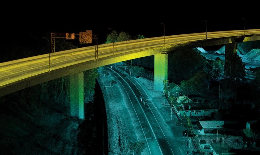 Mobile LiDAR, West Virginia DOT